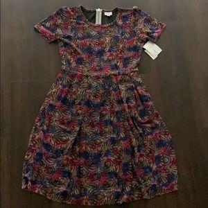 NWT lularoe Amelia pocket dress large new